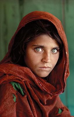 Steve McCurry's, The Afghan Girl