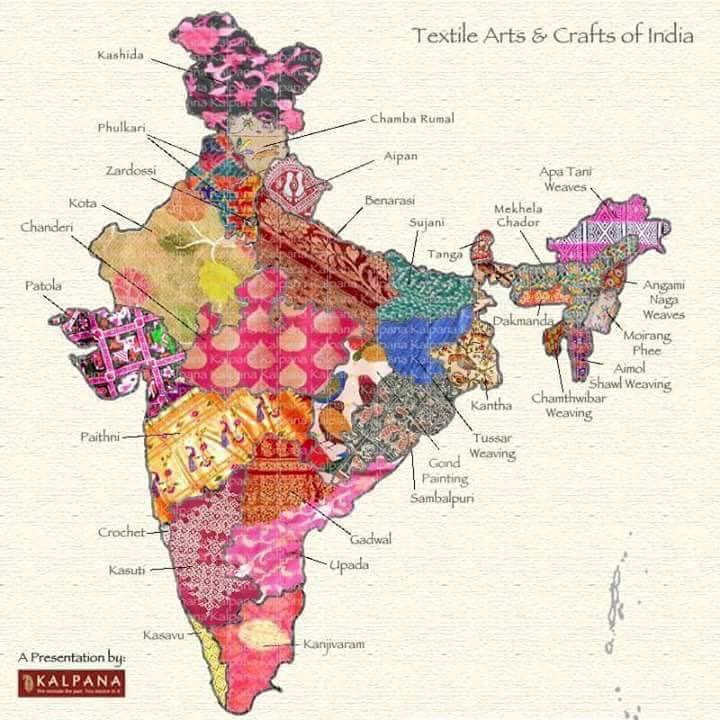 Traditional textiles that an indian fashion design institute should promote