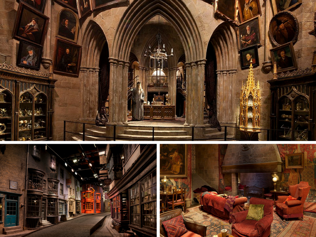 {film set from Harry Potter series}, careers in interior design