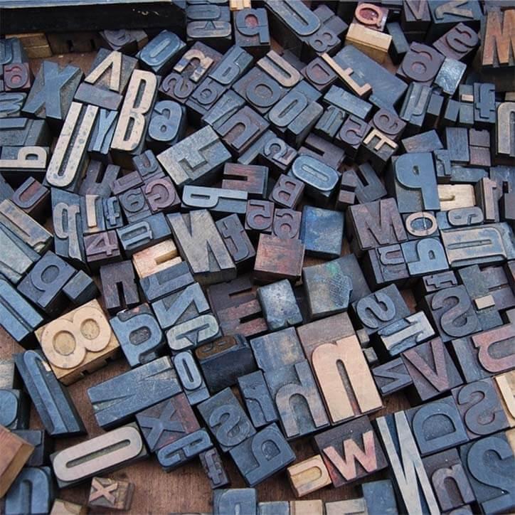 English Alphabet and Number Blocks