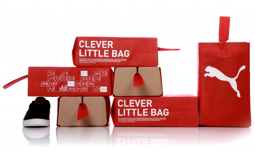 Clever Little Bag by Puma {Packaging|Sustainable Design}