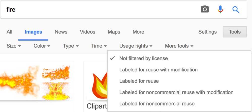 Google Images Filtering Tool|Magazine Design