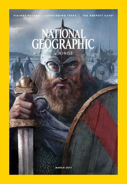 March 2017 Issue of The National Geographic|Magazine Design