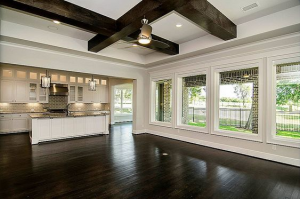 Interiors in Transitional style - interior architecture design