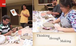 clay-mask-making-at-iiad-–-an-orientation-week-workshop