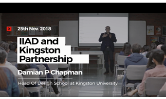 prof.-damian-p-chapman,-head-of-design-school-at-kingston-school-of-art,-visits-iiad
