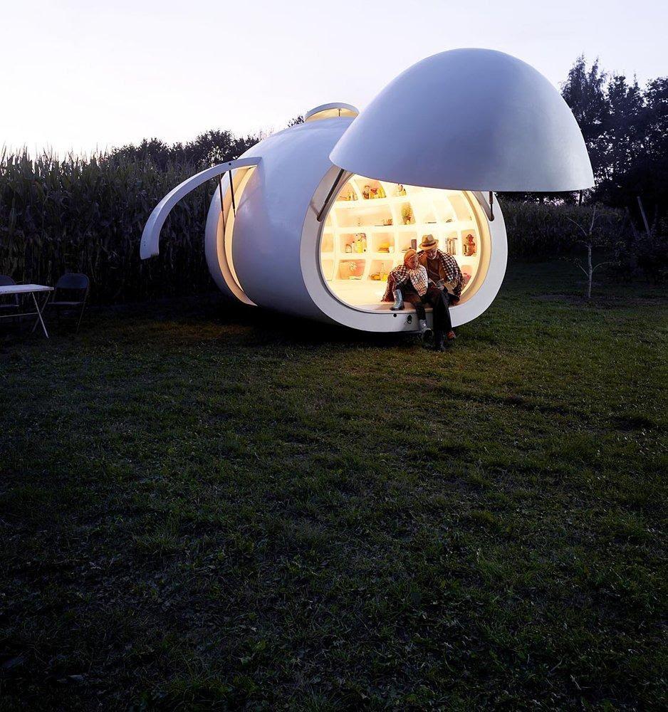 BLOB Home office Design