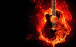 Graphic Design Guitar Creative