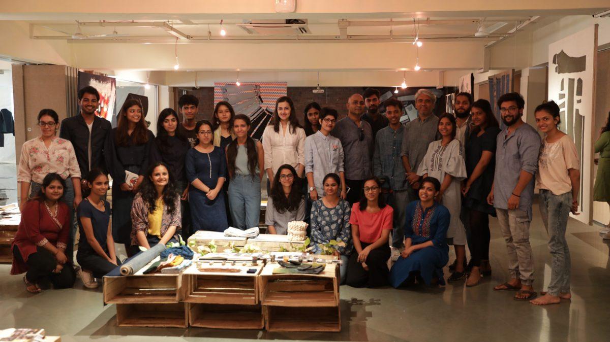 Himanshu Shani, co-founder of Korra Jeans and fashion designer Rajesh Pratap review the Denim Project.