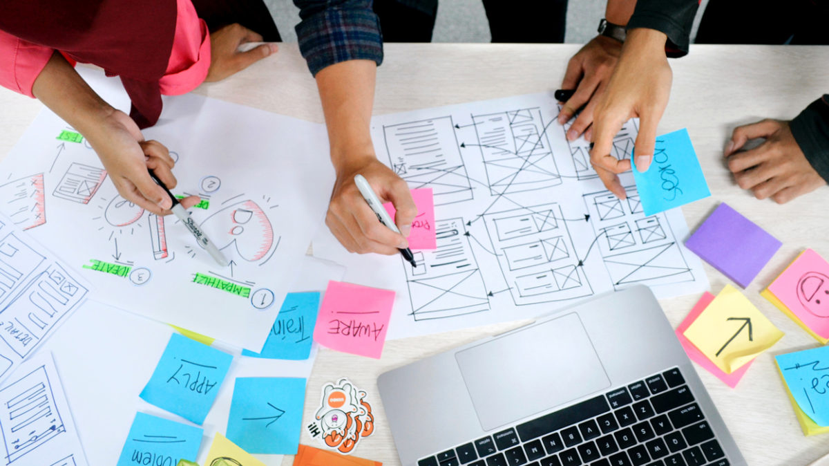Ideation and documentation to develop a holistic outlook by fashion management student