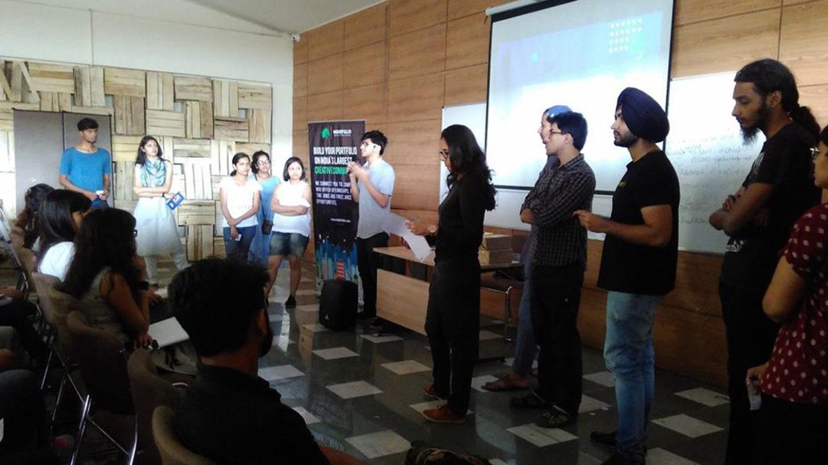 Reinvent Design by IIAD hosts Team Indiefolio