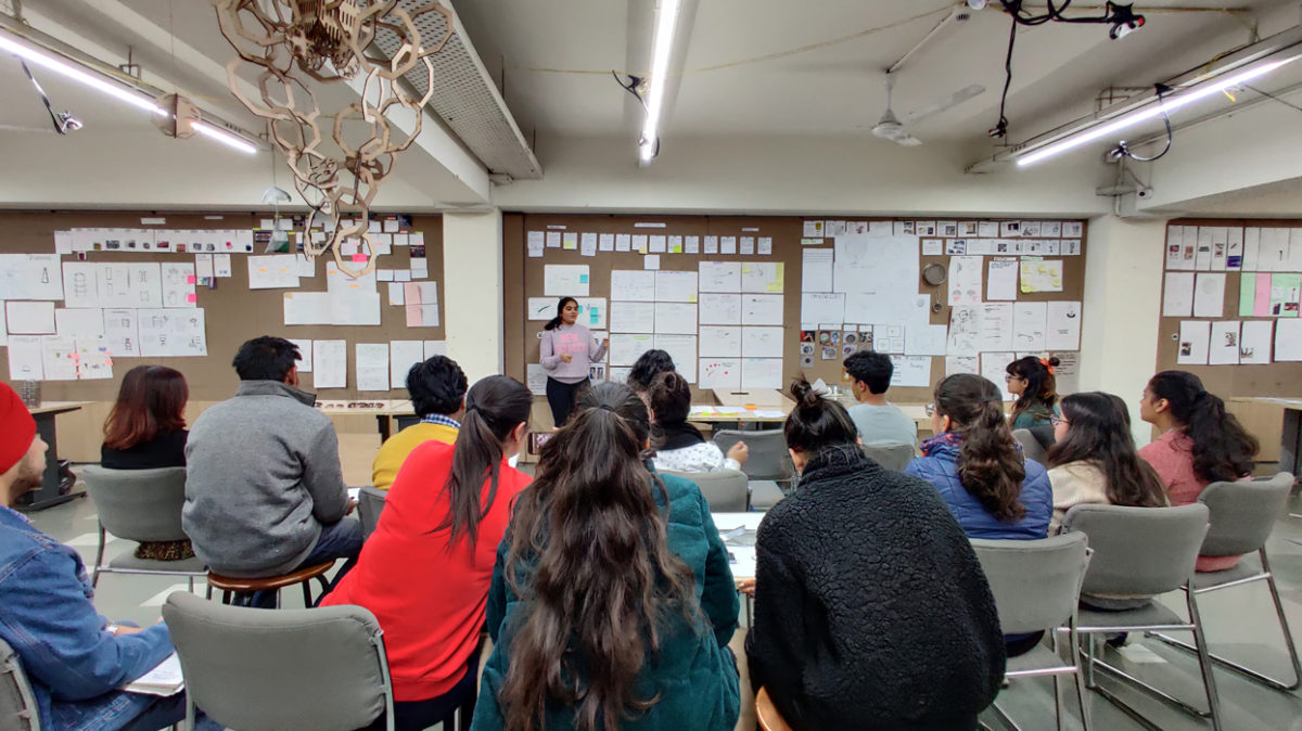 Developing critical design thinking