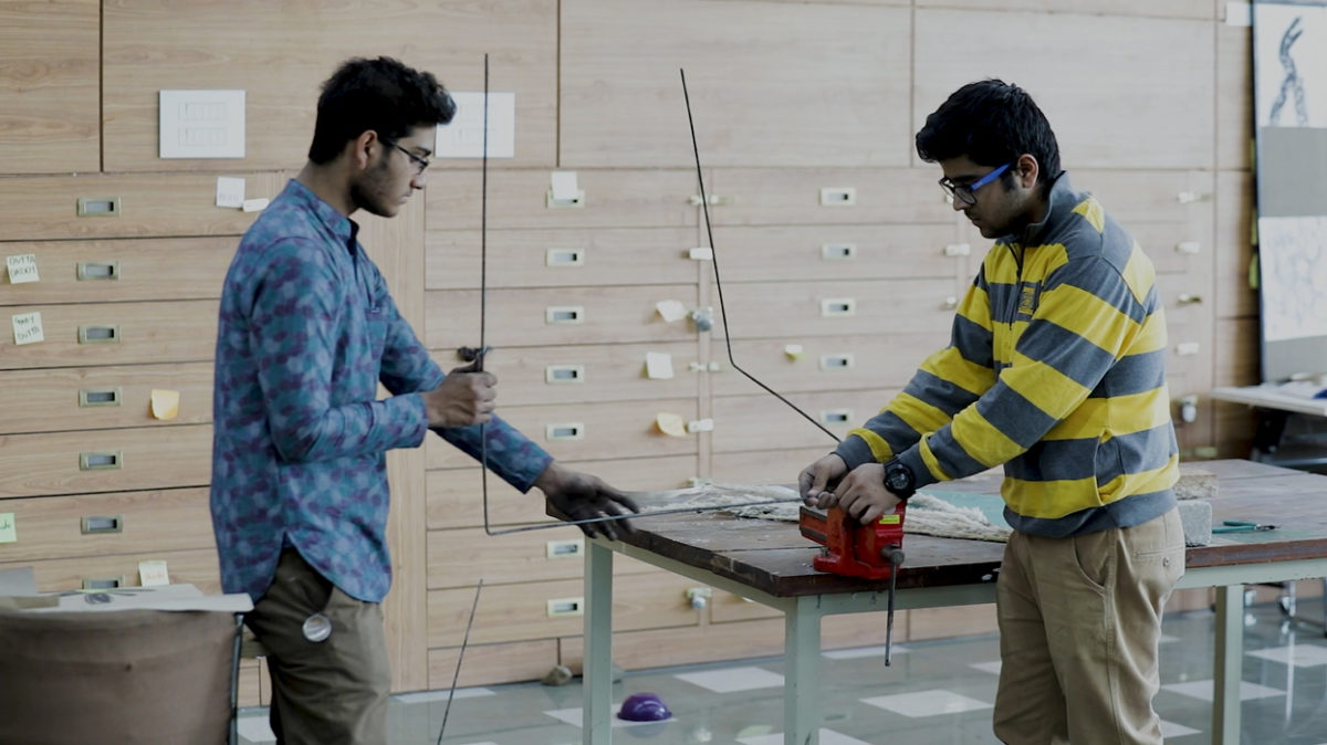 Material Construction Lab at IIAD Campus