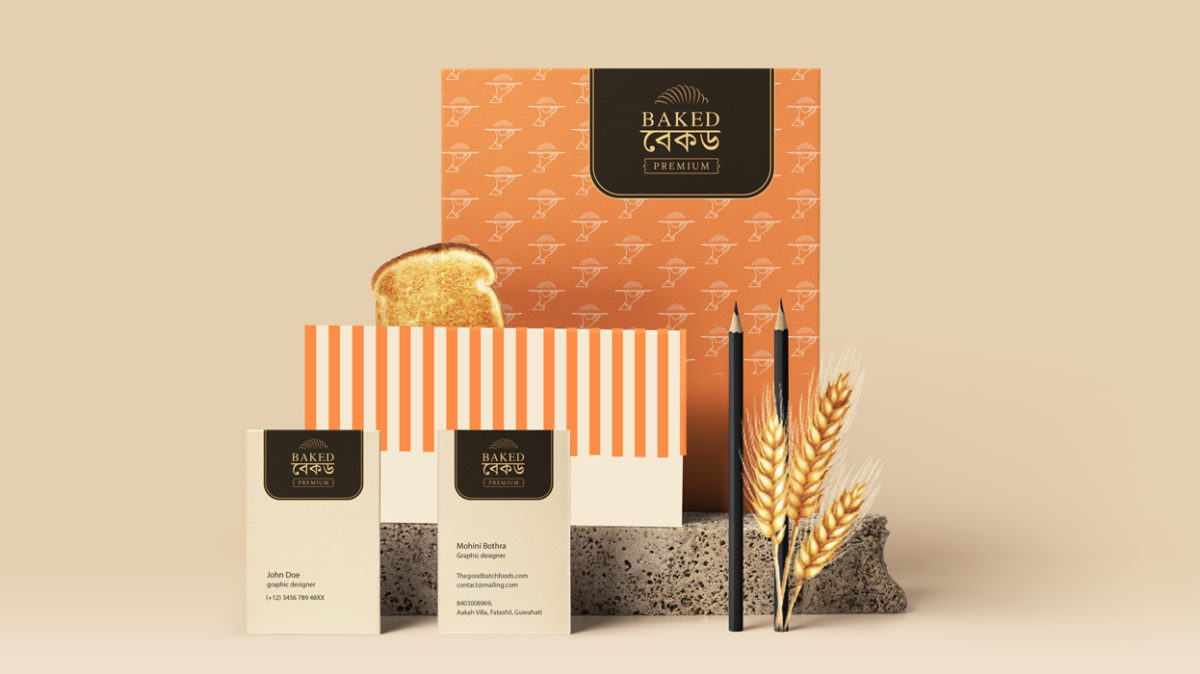 Brand identity Project Work for Bread Manufacturing Company by communication design courses students
