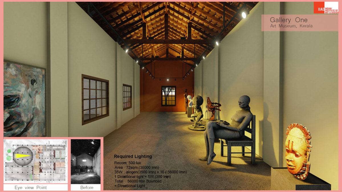 Art Gallery museum -interior designing course at IIAD